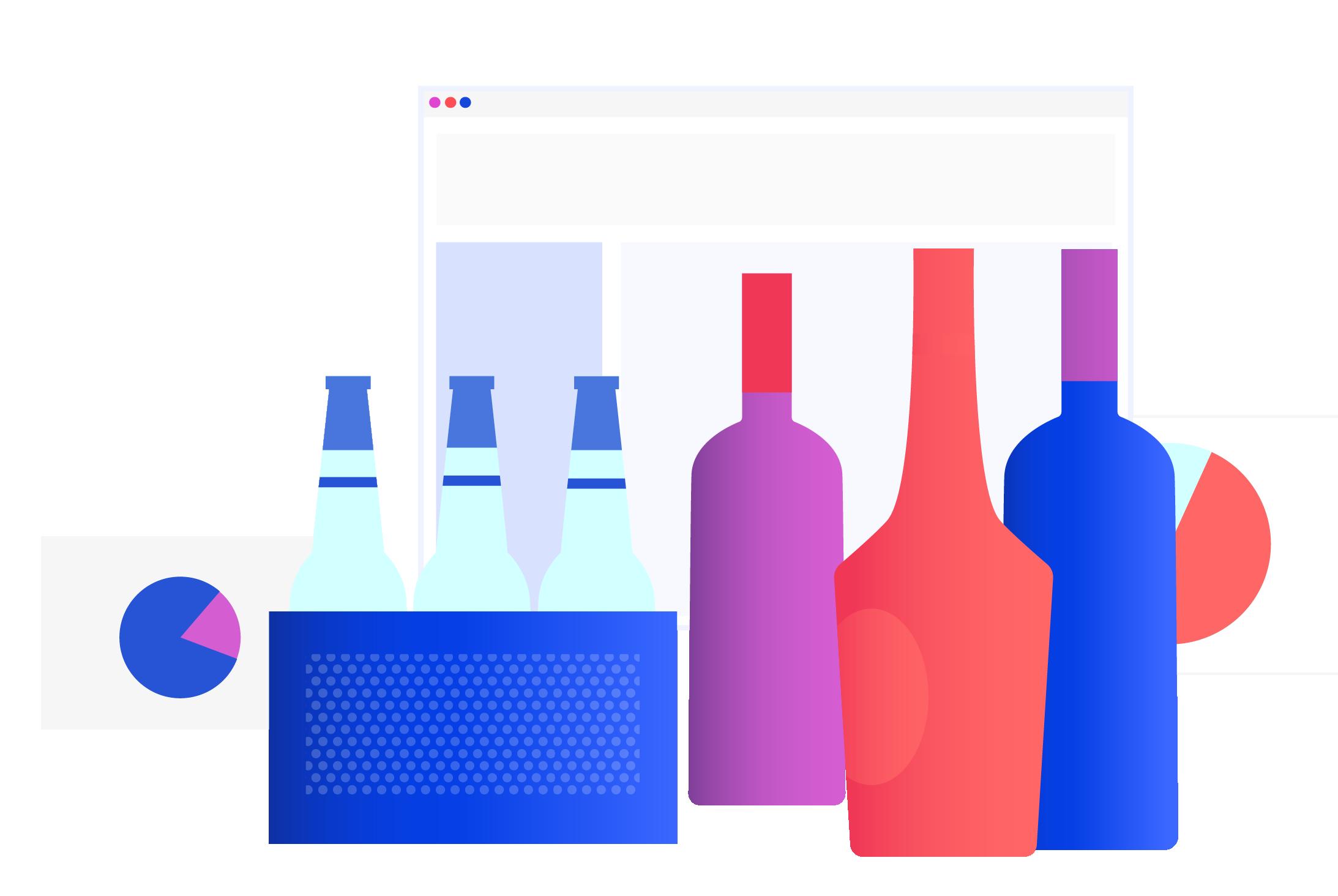 Thirstie Bottle Graphic